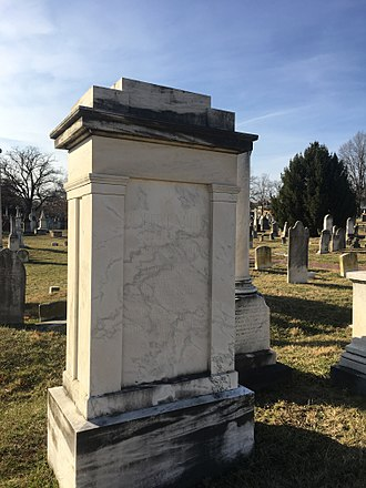 Robert Mills (architect) - The headstone of Robert Mills in the Congressional Cemetery