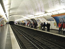 Image illustrative de l'article Robespierre (métro de Paris)