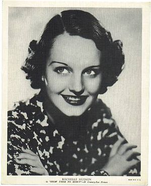 Rochelle Hudson - Rochelle Hudson promoting Show Them No Mercy (1935)