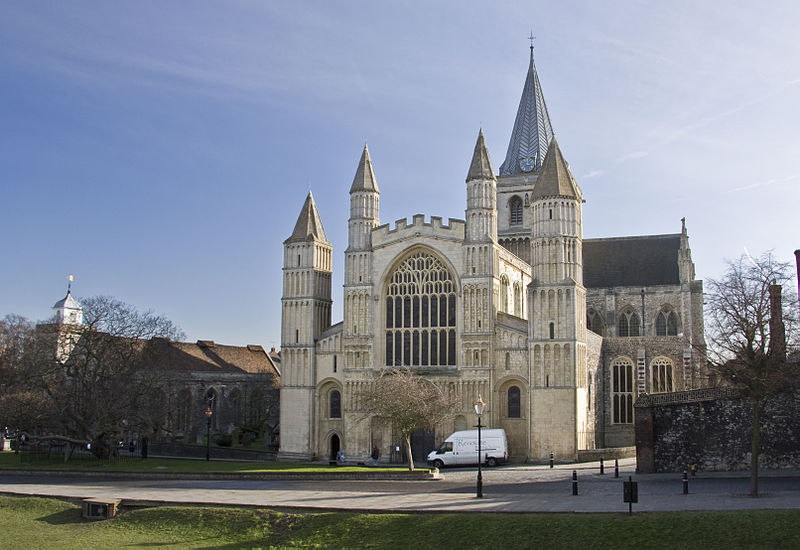 Файл:Rochester Cathedral from west.jpg