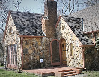 Rose Wilder Lane - Located a short distance from the Wilder farmhouse in Mansfield, Missouri is the Rock House which Lane purchased for her parents, who resided there during much of the 1930s