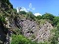 Rocky outcrop on the edge of the Wrekin - geograph.org.uk - 488003.jpg