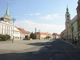 Rokycany Town in Plzeň, Czech Republic