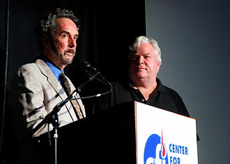 Frank Conniff - Ron Lynch and Frank Conniff, presenters at the IIG 2012 awards show