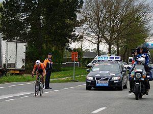 2014 Tour of Flanders for Women - Ellen van Dijk riding solo to victory