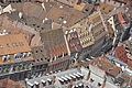 Roofs and street viewed from above in Strasbourg.jpg
