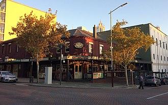 Northbridge, Western Australia - Rosie O'Grady's Irish pub, Northbridge