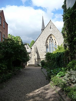 Rosslyn Hill Unitarian Chapel - Rosslyn Hill Chapel in 2009