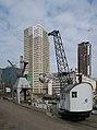 Rotterdam, monumentale havenkranen bij het Maritiem Museum IMG 1884 2018-03-18 14.10.jpg