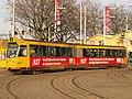 Rotterdam tram RET 737 pic1 Type ZGT-6 made by Düwag Düsseldorf.JPG