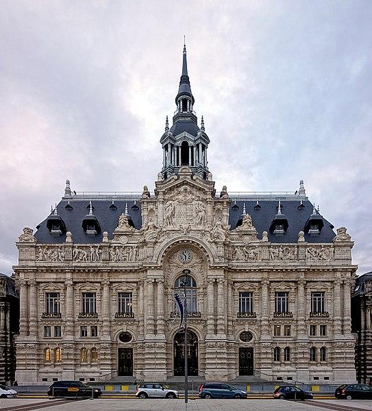 File roubaix hotel de ville wikimedia commons for Piscine de roubaix