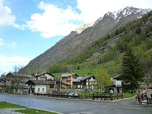 Valsavarenche - Rovenaud village