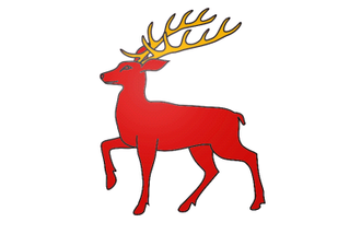 Battle of Callann - Image: Royal Banner of Mac Carthy (Desmond)