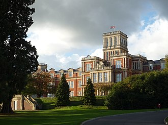 Royal Earlswood Hospital - The main building, now called Victoria Court