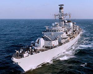 HMS Argyll (F231) - Image: Royal Navy Type 23 Frigate HMS Argyll MOD 45153839
