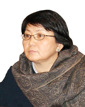 2010 South Kyrgyzstan ethnic clashes - Roza Otunbaeva in 2008