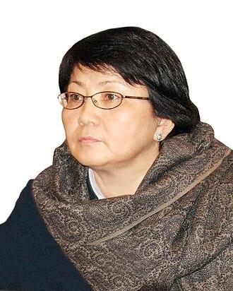 2010 South Kyrgyzstan ethnic clashes - Roza Otunbaeva in 2008