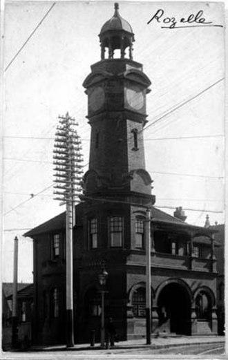Rozelle - Rozelle Post Office, 1901 (National Archives of Australia)