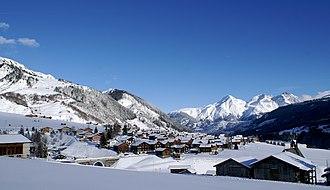 Tujetsch - Rueras village in Tujetsch