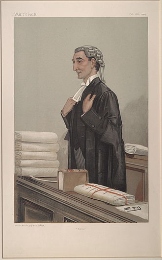 Rufus Isaacs, 1st Marquess of Reading - Image: Rufus Isaacs, Vanity Fair, 1904 02 18