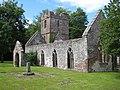 Ruined church of St John the Baptist - geograph.org.uk - 876817.jpg