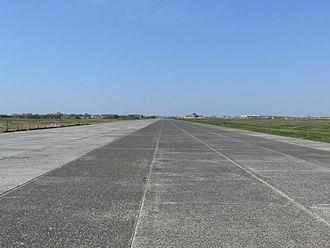 Floyd Bennett Field - A concrete runway at Floyd Bennett Field