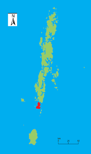 Rutland Island - Image: Rutland I locale