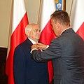 Ryszard Bandosz dekorowany honorową odznaką Zasłużony dla Kultury Polskiej 18 czerwca 2019 fot M Z Wojalski 09084.jpg