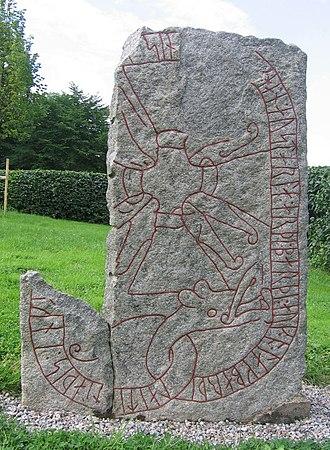 Italy runestones - Runestone Sö 65