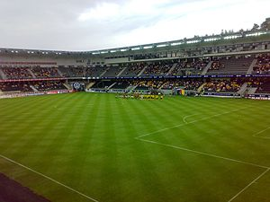 Sør Arena - The pitch