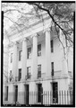 S. FRONT ELEVATION SHOWING PORTICO - Barton Academy, Government Street, Mobile, Mobile County, AL HABS ALA,49-MOBI,34-3.tif