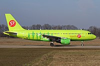 VP-BHF - A319 - S7 Airlines