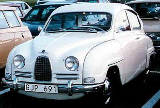 Sixten Sason - Image: SAAB 96 De Luxe 1961