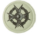 SANDF Qualification Chaplain Christian badge embossed.png