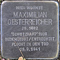 SG Stolperstein - Maximilian Oesterreicher, Wupperstraße 1 PK.jpg