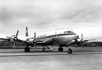 Douglas DC-7 - Swissair DC-7C in 1961