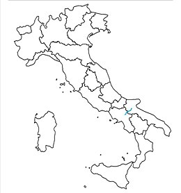 "SS 90 ""delle Puglie"" (road in Italy) map.jpeg"