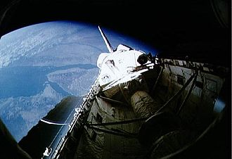STS-42 - Image: STS 42 view of payload bay