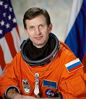 Sergei Treshchov Russian cosmonaut