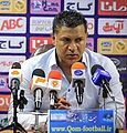 Saba head coach, Ali Daei in press conference after match with Saipa.jpg