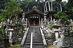 Saguriten-Shrine in Iwayama, Ujitawara, Kyoto July 6, 2018 11.jpg