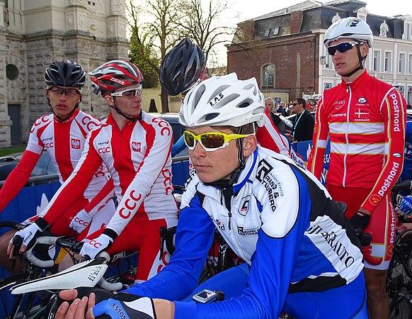Saint-Amand-les-Eaux - Paris-Roubaix juniors, 12 avril 2015, départ (A43).JPG