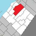 Saint-Damase-de-L'Islet Quebec location diagram.png