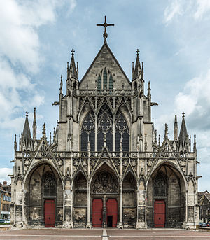 Basilique Saint-Urbain de Troyes - West façade