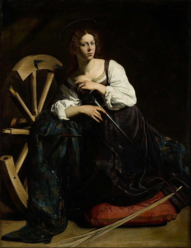 Saint Catherine of Alexandria (Caravaggio).jpg