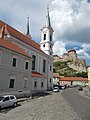Saint Ignatius of Loyola Church and Esztergom Castle, 2016 Esztergom.jpg