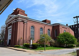 St. Mary of Victories Church church building in St. Louis, United States of America