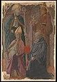 Saints Augustine and Francis, a Bishop Saint, and Saint Benedict MET DP254797.jpg