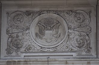 Saints Peter and Paul Cathedral (Indianapolis) - Detail of the Great Seal of the United States