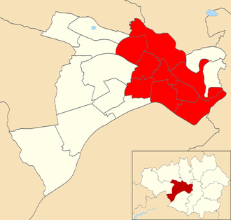 Salford and Eccles (UK Parliament constituency) - Salford and Eccles electoral wards.